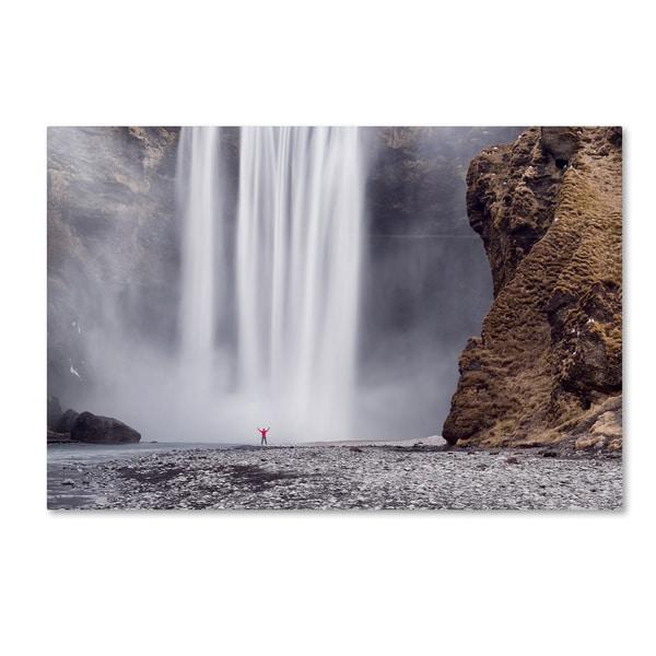 Michael Blanchette Photography 'X Marks the Spot' Canvas Art - White