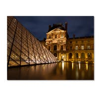 Michael Blanchette Photography 'Ornate Glass' Canvas Art - Brown
