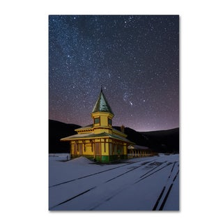Michael Blanchette Photography 'Night Depot' Canvas Art