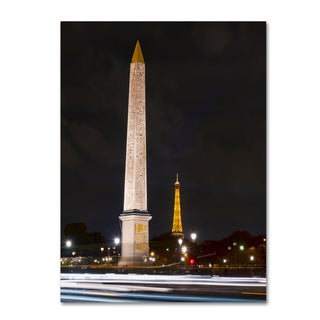 Michael Blanchette Photography 'Concorde Place' Canvas Art
