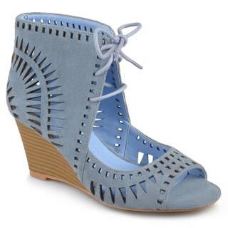 bfb260b7ee34d Buy Blue Women s Wedges Online at Overstock