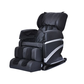Full Body Heated Shiatsu Massage Chair with Stretched Foot