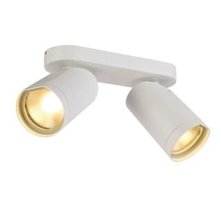 SLV Lighting Bilas Spot Double 2-light LED White Wall/Ceiling Lamp