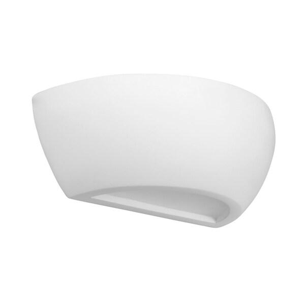 Slv Lighting Plastra Dobo Led Paintable Wall Lamp Free Shipping Today 14462626