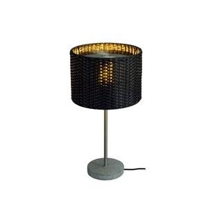 SLV Lighting Adegan 1-light Stainless Steel, Granite Table Lamp