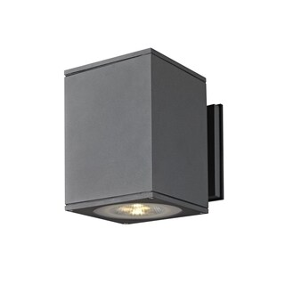 SLV Lighting Big Theo 2-light LED Anthracite Wall Lamp