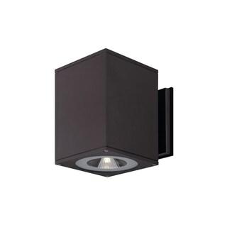 SLV Lighting Big Theo 2-light LED Architectural Bronze Wall Lamp