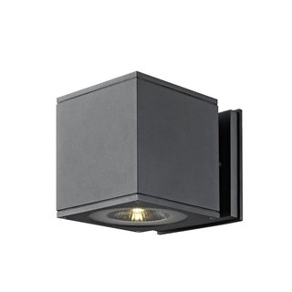 SLV Lighting Theo U-M LED Anthracite Down Wall Lamp