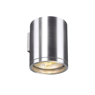 SLV Lighting Rox 1-light Brushed Aluminum Wall Lamp