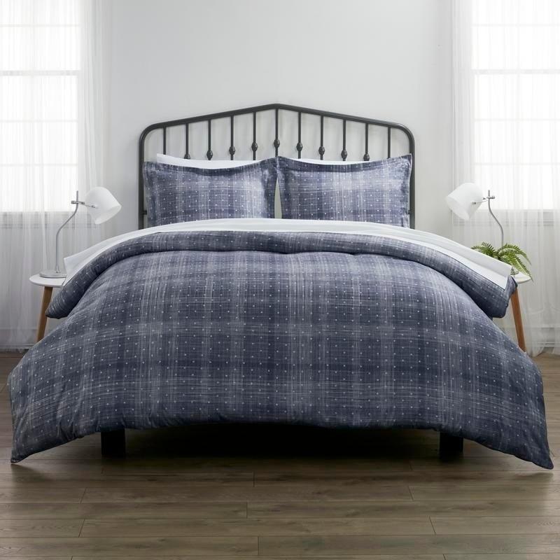 Merit Linens Premium Polka Dot Pattern 3 Piece Duvet Cover Set On Sale Overstock 14463282