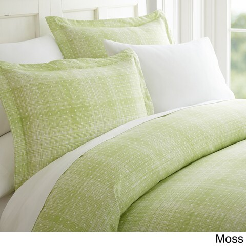 Merit Linens Premium Polka Dot Pattern 3 Piece Duvet Cover Set