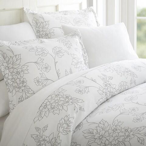 Merit Linens Premium Ultra-soft Vine Pattern 3-piece Duvet Cover Set