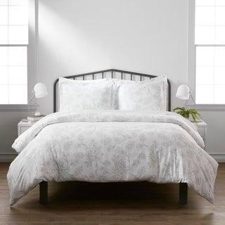 merit linens premium ultrasoft vine pattern 3piece duvet cover set - Comforter Covers