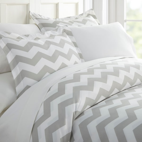 Merit Linens Premium Ultra Soft Arrow Pattern 3 Piece Duvet Cover Set