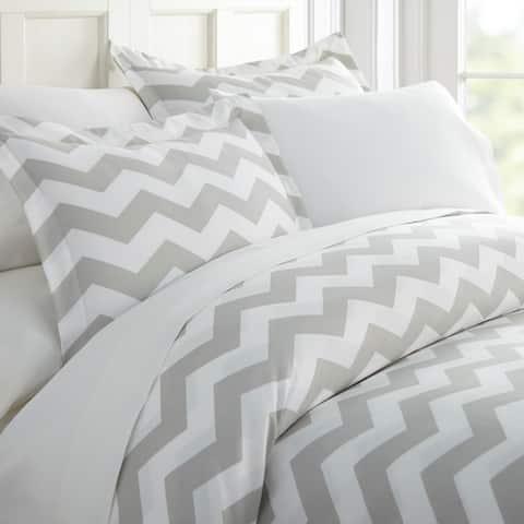 Merit Linens Premium Ultra Soft Arrow Pattern 3 Piece Duvet Cover Set