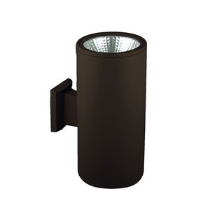 SLV Lighting Rox LED Architectural Bronze Up-Down Wall Lamp