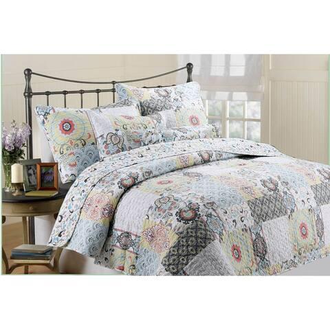 Moorea 3-piece Quilt Set