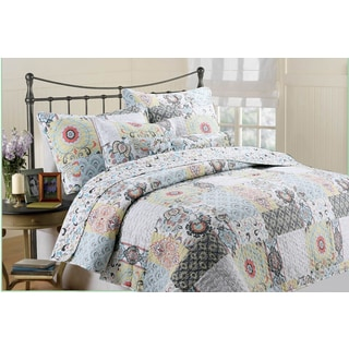 Moorea 3-piece Quilt Set