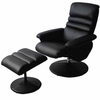 Electric Masaage Armchair with Ottoman