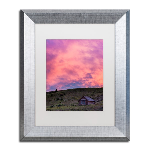 Michael Blanchette Photography 'Farmhouse Glow' Matted Framed Art