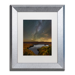 Michael Blanchette Photography 'Harvest Sky' Matted Framed Art