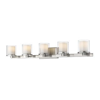 Z-Lite Schema Brushed nickel 5 Light Vanity
