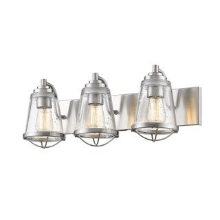 Avery Home Lighting Mariner Brushed Nickel 3 Light Vanity