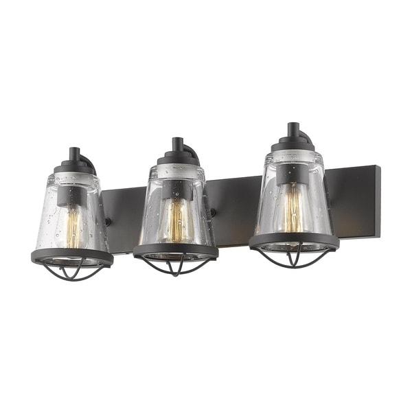 Shop Avery Home Lighting Mariner Bronze 3 Light Vanity - Free ...