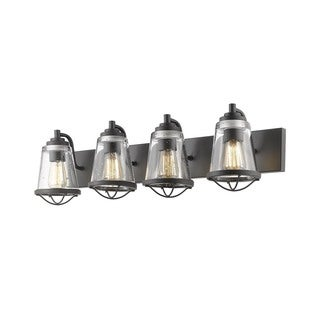 Z-Lite Mariner Bronze 4 Light Vanity