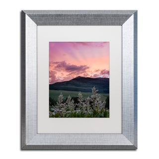 Michael Blanchette Photography 'Ascend' Matted Framed Art