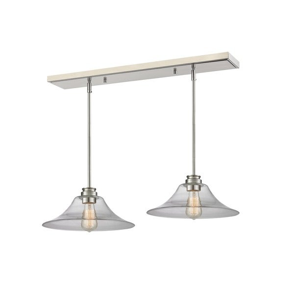 Shop Avery Home Lighting Annora Brushed Nickel 2 Light