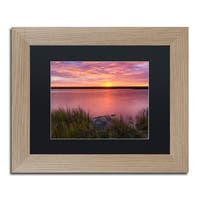 Michael Blanchette Photography 'Windy Marsh' Matted Framed Art