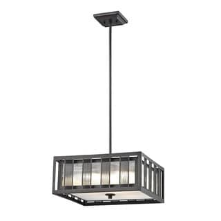 Z-Lite Meridional Bronze 4 Light Pendant