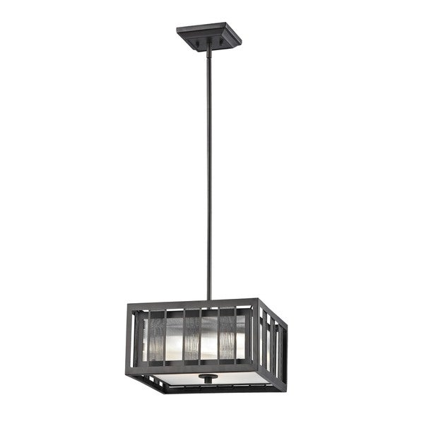 Z-Lite Meridional Bronze 3 Light Pendant