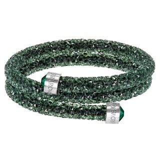 Women's Crystal dust Green Bangle