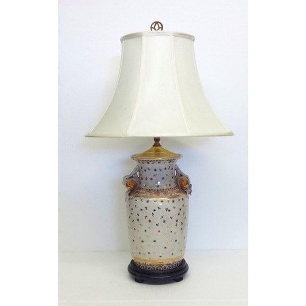 Golden Hays Porcelain Jar Table Lamp