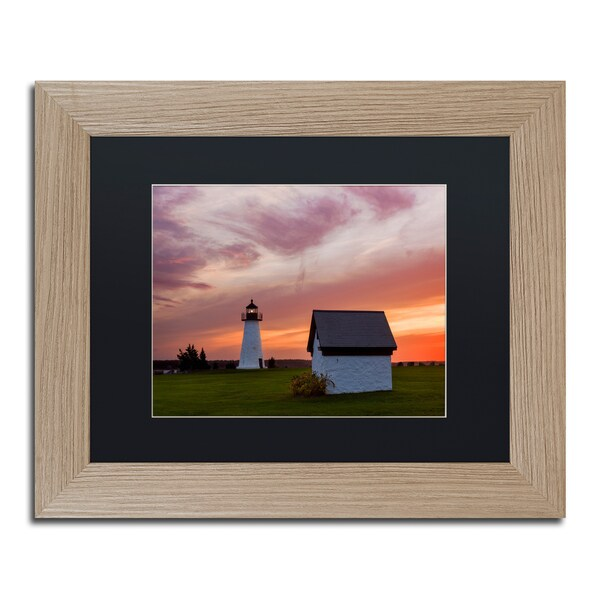 Michael Blanchette Photography 'Guidepost' Matted Framed Art