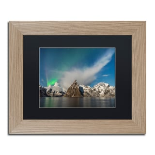 Michael Blanchette Photography 'Plumes' Matted Framed Art