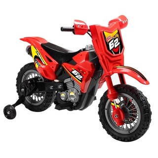 Blazin' Wheels Red 6-volt Dirt Bike