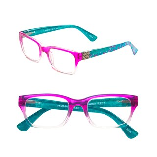 Pop Fashionwear Unisex Pastel Spring Hinge Floral Readers (More options available)