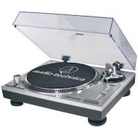Audio-Technica LP120 Direct-Drive Professional Turntable - USB and Analog Silver (Refurbished)