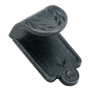 Nature's Splendor Wrought Iron Dark 1-7/8-inch (48mm) Length Finger Pull