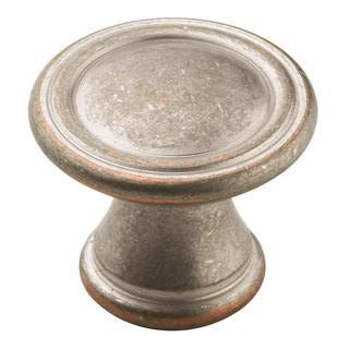 Vasari Weathered Nickel Copper 1-3/16-inch (30mm) Diameter Knob