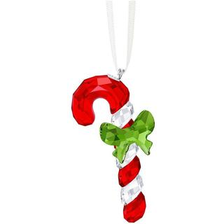 Crystal Candy Cane Christmas Ornament