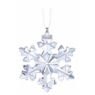 2016LimitedEditionSnowflake Crystal Christmas Ornament