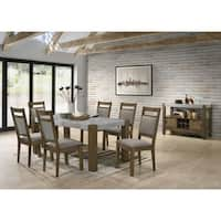 Costabella 8 PC Dining Set, Table with 6 Chairs and Server