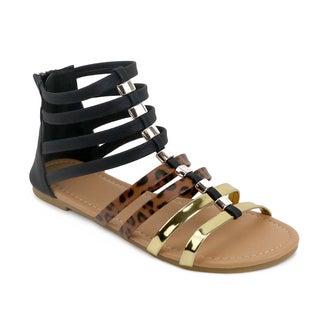 OM Olivia Miller 'Eleta' Gladiator Sandals