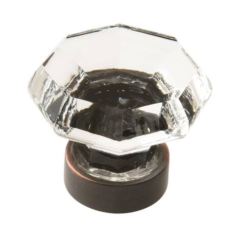 Traditional Classics Rubbed Bronze 1-5/16-inch (33mm) Diameter Knob