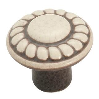 Allison Value Distressed Cream 1-3/8-inch (35mm) Diameter Knob