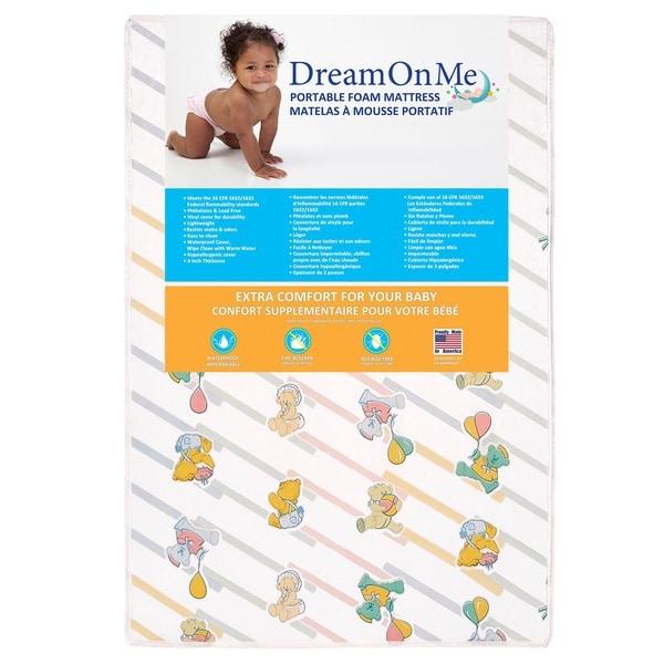 Dream On Me Ultra Lite Play Yard Mattress 24099684